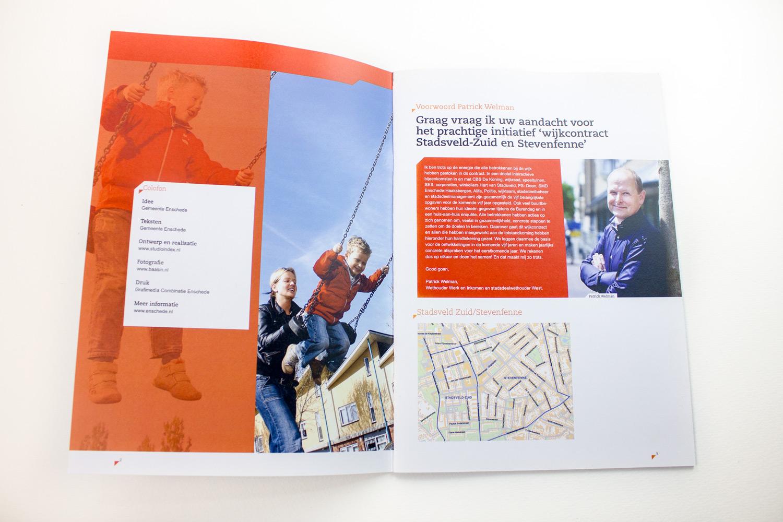 Ontwerp wijkcontracten Gemeente Enschede, inleiding | Studio Index