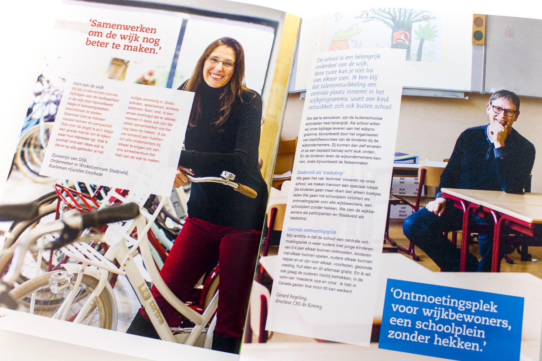 Ontwerp wijkcontracten Gemeente Enschede, pagina 'samenwerken' | Studio Index