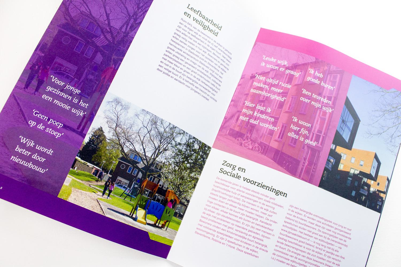 Ontwerp wijkcontracten Gemeente Enschede, pagina 'leefbaarheid' | Studio Index