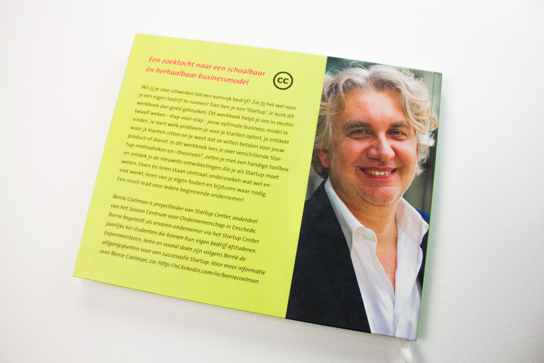 Startup werboek achterkant